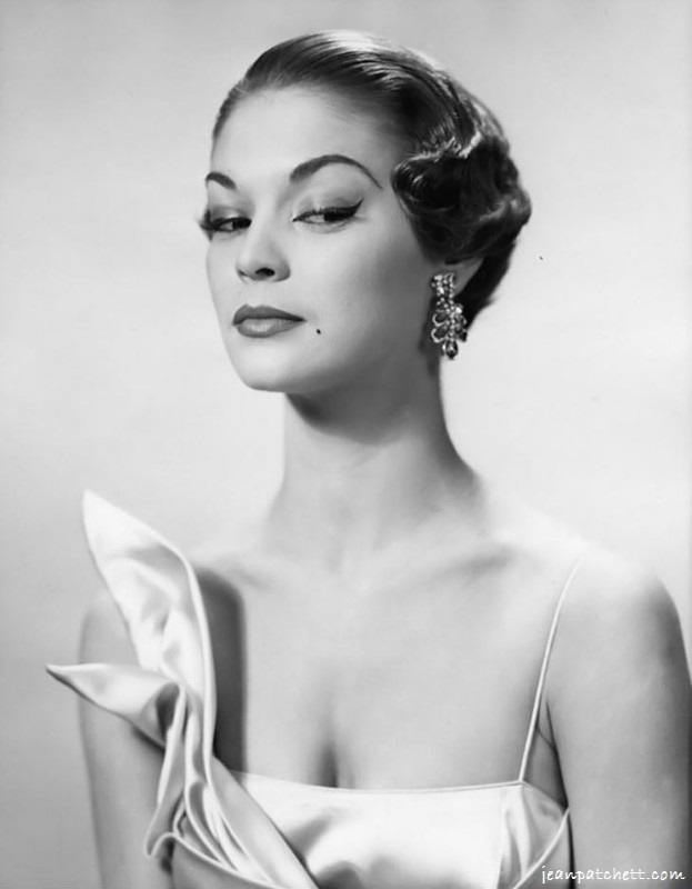 Jean Patchett 1950s model