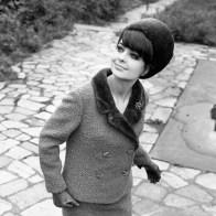 1960s fashion model