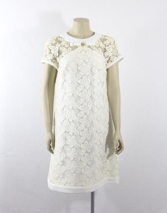 1960's Short Wedding Dress