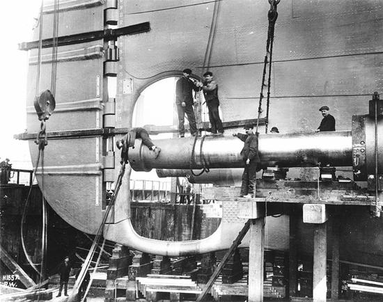 Building the Titanic