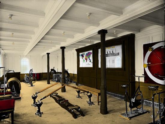Titanic's gym