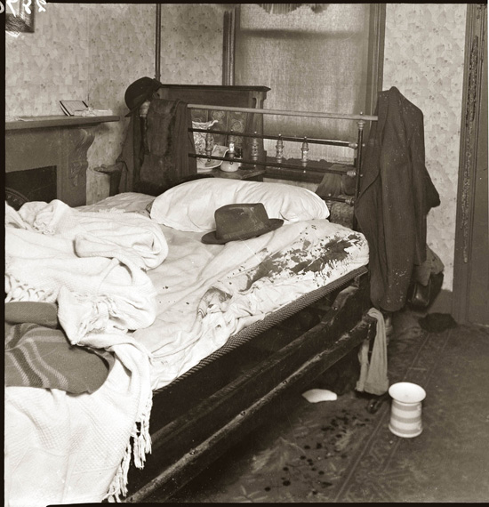 1940s crime scene photos