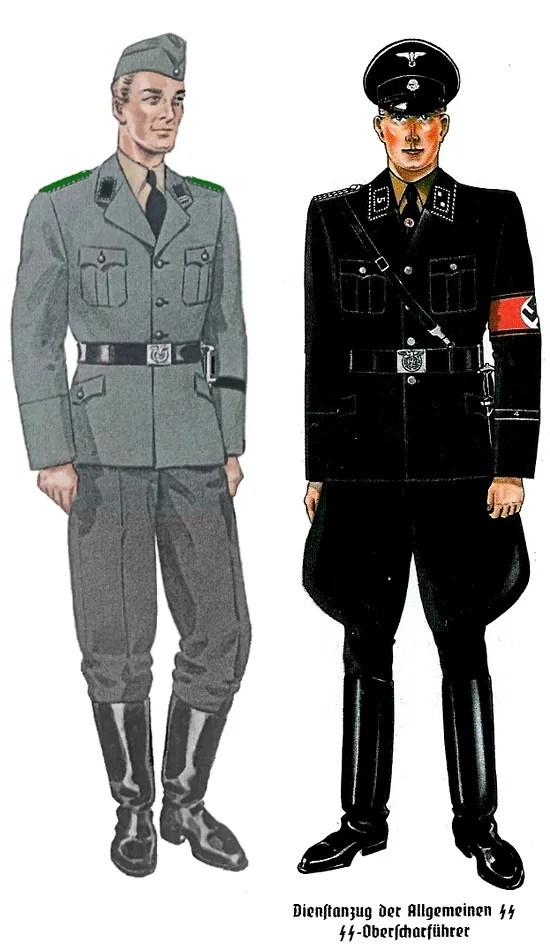 S.S. and Gestapo uniform