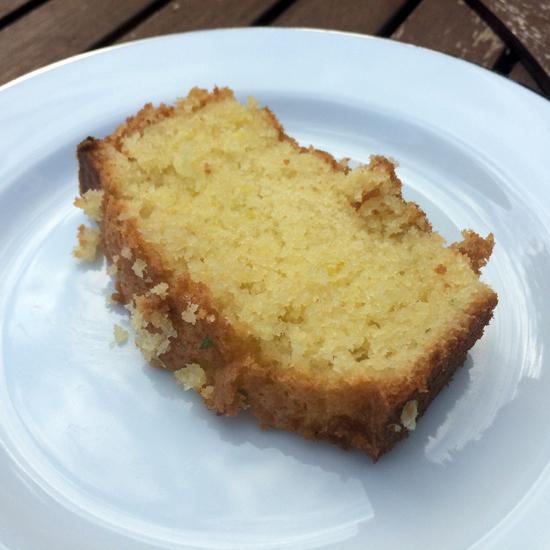 Nigel Slater's Thyme & Lemon Cake
