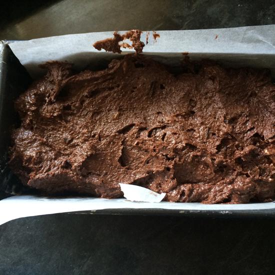 Triple Chocolate Loaf Cake