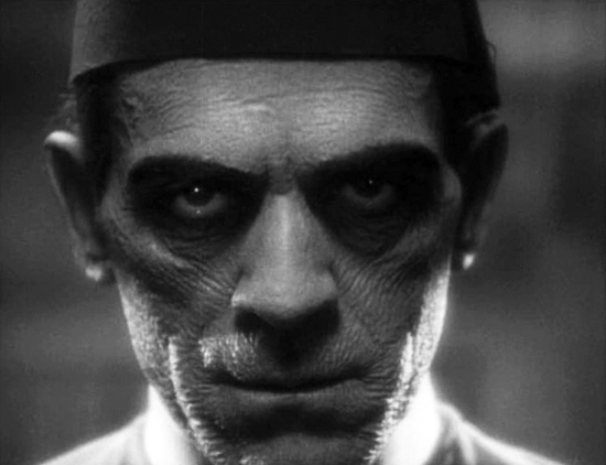 Boris Karloff as The Mummy
