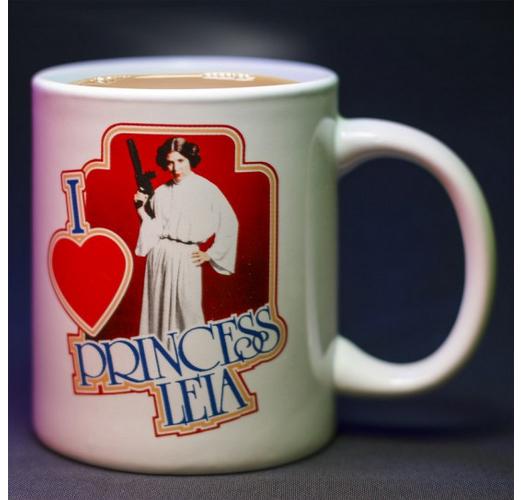 I Heart Princess Leia Mug