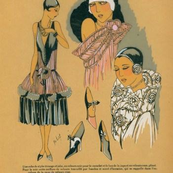 Original 1920s Evening Dress Designs: Eat Your Heart Out Gatsby!
