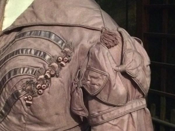 19th century sleeve detail