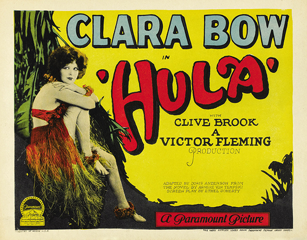 Hula with Clara Bow