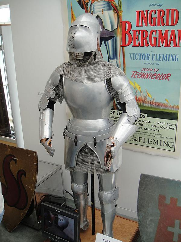 Ingrid Bergmans suit of Armor from Joan of Arc