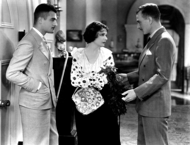English: Norma Talmadge in The Woman Disputed (1928), directed by Henry King.