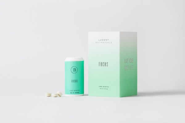 Lucent 漢麻CBD爽口糖- 好專心配方 40入