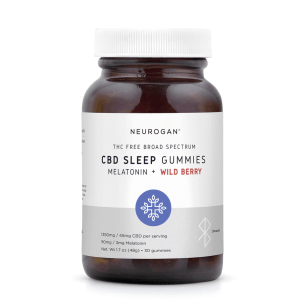 CBD睡眠軟糖 - 30入每顆45mg (含褪黑激素)