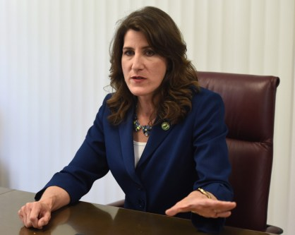 Former Assemblywoman Catharine Baker is a candidate for the16th Assembly District and is photographed in Walnut Creek, Calif., on Thursday, April 14, 2016. Photo by Susan Tripp Pollard/Bay Area News Group