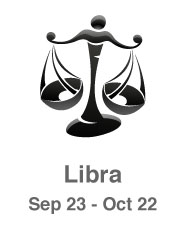 Libra scales image