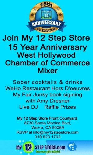 My 12 Step Store 15th Anniversary