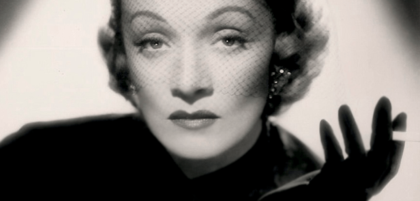 Marlene Dietrich is not impressed with your bullshit