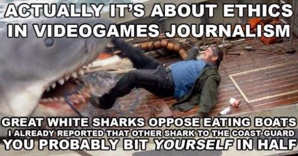 GamerGate logic, sharkified