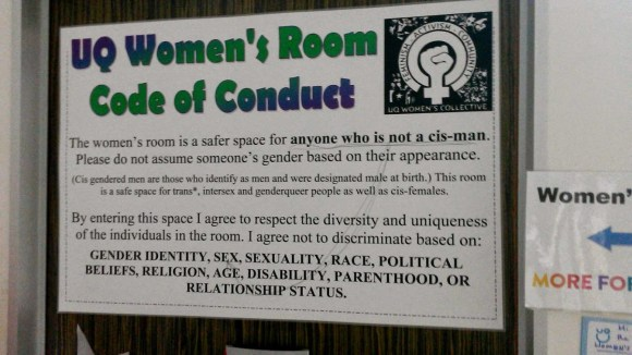 Men's Rights Activists agree: This room oppresses them