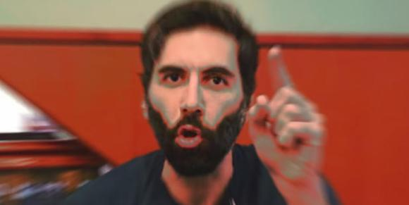 "Roosh celebrates his ""victory"" in Montreal"