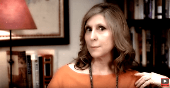 "Christina Hoff Sommers doing her best ""Blue Steel"""