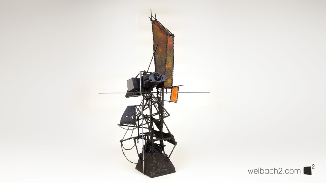 Dead Dream - Abstract Mixed Media Sculpture by Weibach2