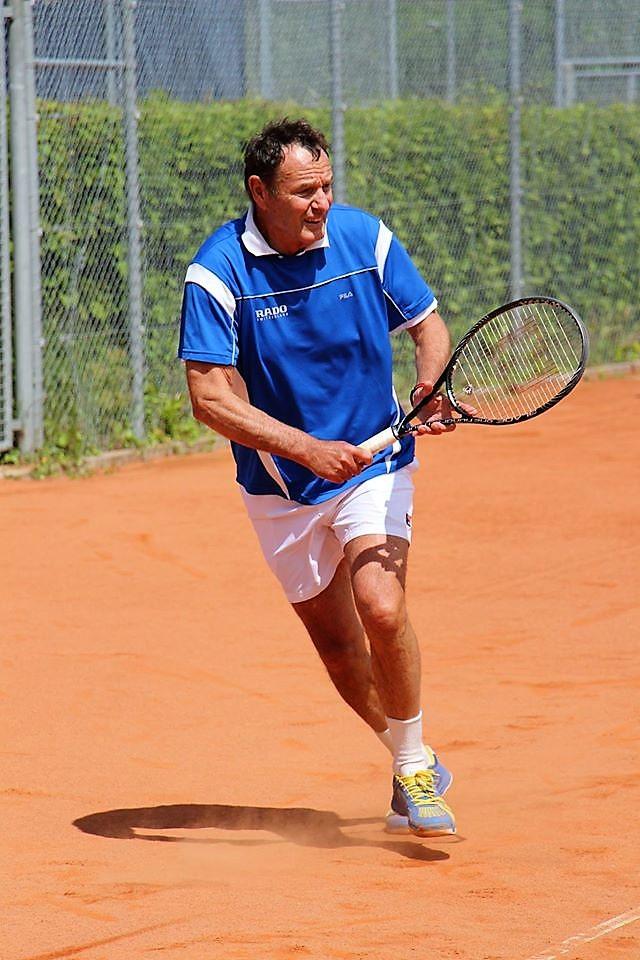 Wolfram Schmidle siegte bei den Herren 65