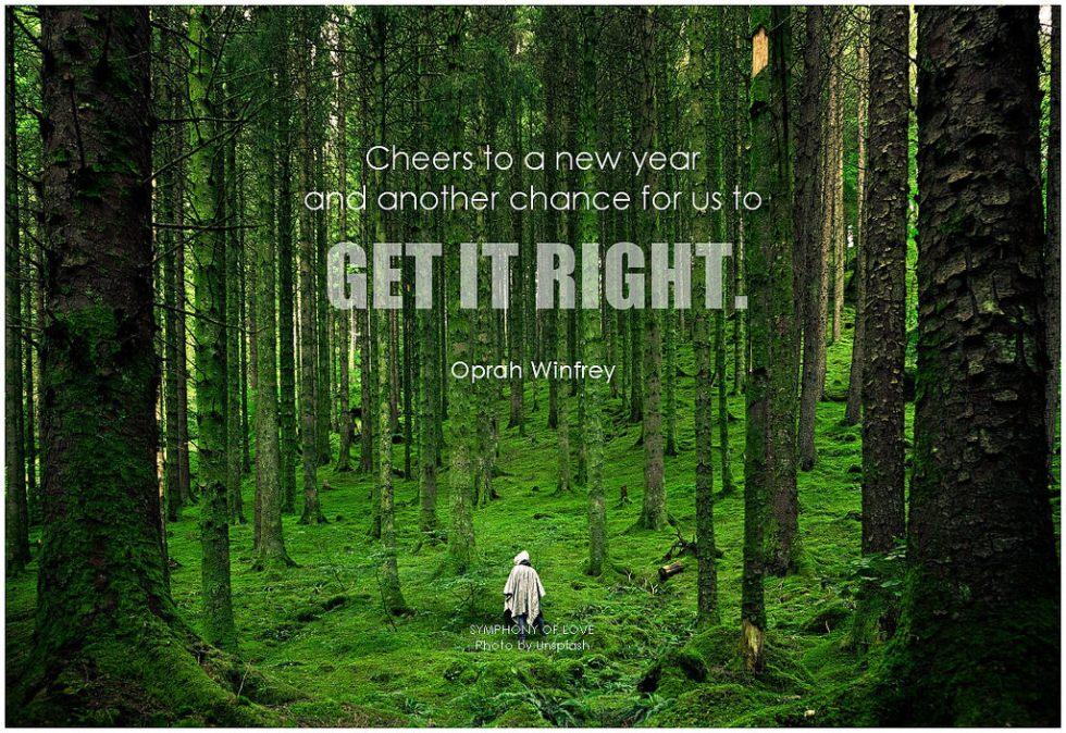 Get it Right Oprah quote