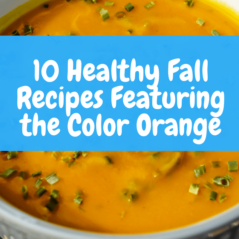 10 Healthy Fall Foods Featuring the Color Orange