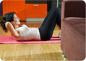 home workout in 30 minutes
