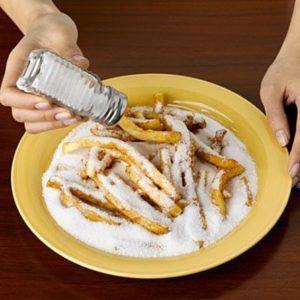 avoid salty foods