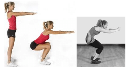 Exercise Precautions For Beginners squats