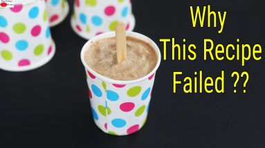 My Failed Recipe Of Chocolate Ice Cream - Worst Recipe Tried -  Recipe Fails   Skinny Recipes