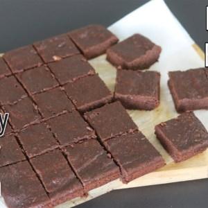 Brownie Recipe - Healthy 100% Whole Wheat Chocolate Brownies - Eggless Atta Brownie | Skinny Recipes
