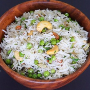 Matar Methi Pulao Recipe - Matar pulao - Methi pulao - Pulao Recipe - Vegan Recipes | Skinny Recipes