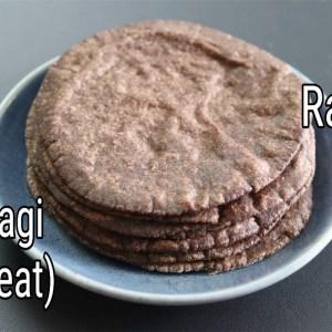 Ragi Roti Recipe - How To Make Soft Ragi Roti - Easy Finger Millet Chapathi  | Skinny Recipes