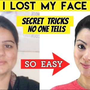 How I Reduce My Face Fat, Got Rid of Chubby Cheeks & Double Chin 🔥 Secret Face Fat Exercises + Diet