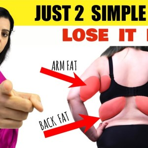 7 Days Lose Arm Fat + Back Fat + Bra Fat Challenge | Just 2 Simple Steps Transform Your Body ✅Week-2