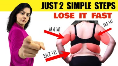 7 Days Lose Arm Fat + Back Fat + Bra Fat Challenge   Just 2 Simple Steps Transform Your Body ✅Week-2