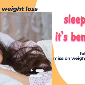 8 hours of sleep and its benefits for health and weight loss.
