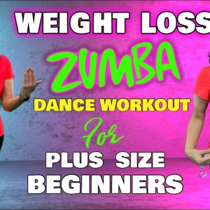 10 Mins Super Easy Weight Loss Zumba Dance Workout For Obese Beginners ( Plus Size )  Low Impact