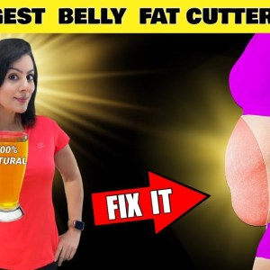 Super Strong Belly Fat Cutter Drink 🔥 Lose 15 Kgs 🔥 100% Natural Belly Fat Burner Drink - TRY IT