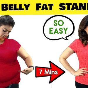 7 Mins Lose Belly Fat Workout At Home  For Beginners | Amazing Results Guaranteed