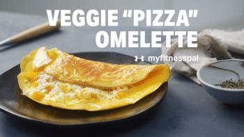 """Veggie """"Pizza"""" Omelette"""