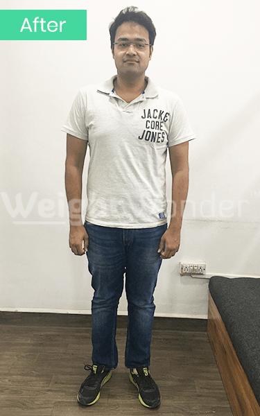 After-Amir Khan (Lost 16.4kgs)