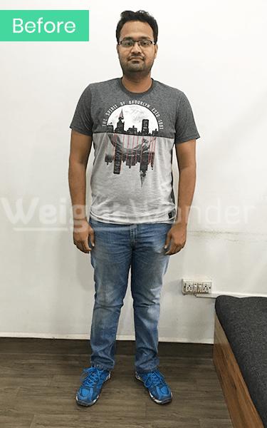 Before-Amir Khan (Lost 16.4kgs)