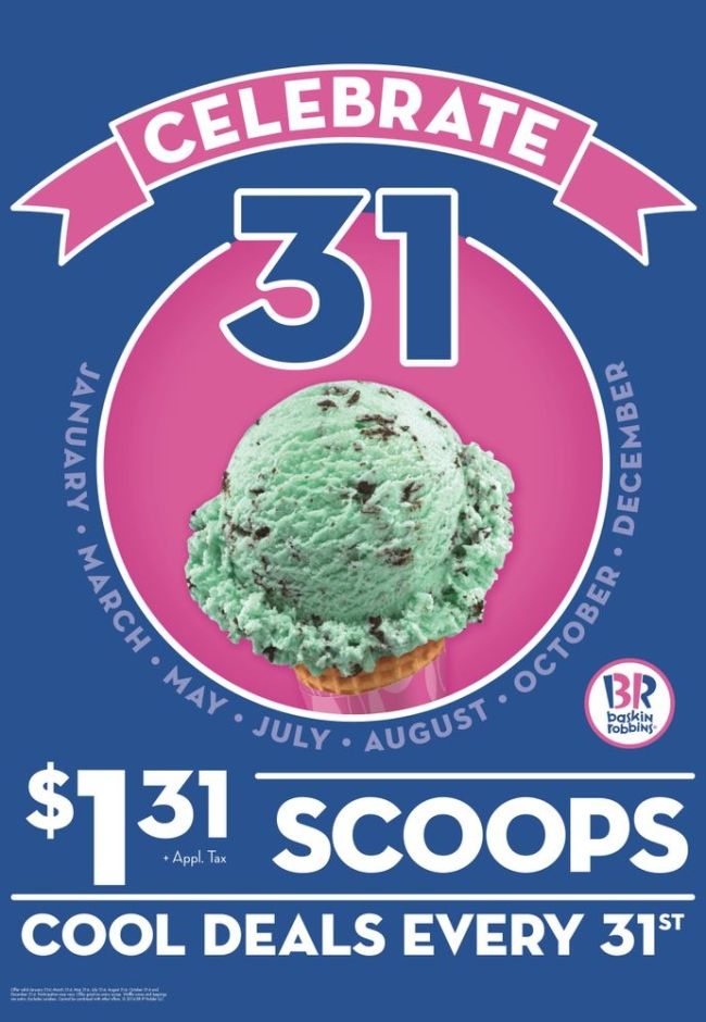 Baskin-Robbins competitive positioning