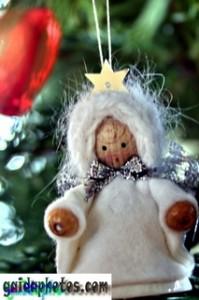 Weihnachtskarte kostenlos, Weihnachtsbaum Christbaum, Dekoration, Schnee