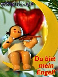 Weihnachtskarten Engel Liebe